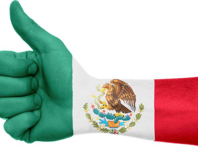 לקיי בצבעי דגל מקסיקו